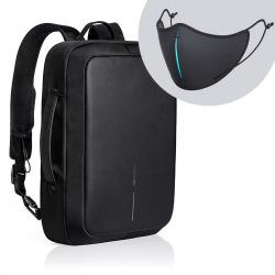 """Bezpečnostní business batoh/aktovka na notebook, Bobby Bizz, 15,6"""", XD Design, černý"""
