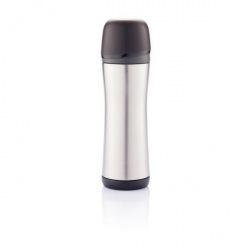 Termoska Boom Hot, 500 ml, XD Design, stříbrná/černá