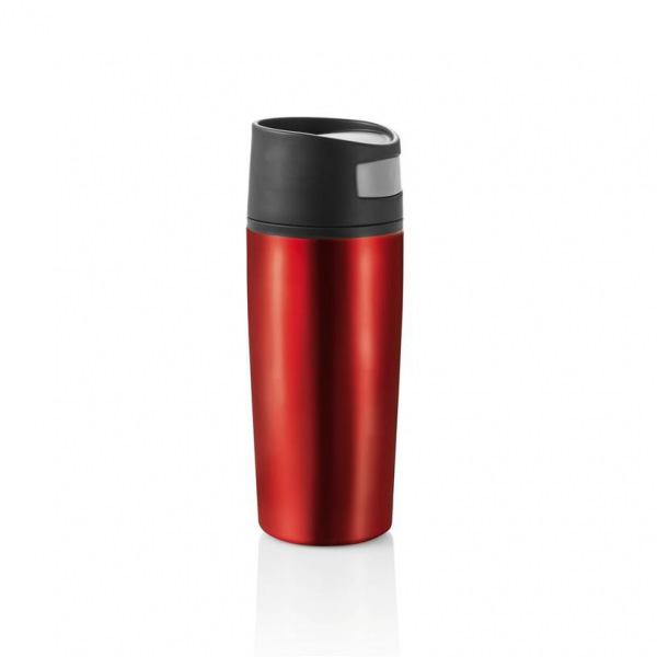 XD Design, Termohrnek do auta Auto leak, 300 ml, červená