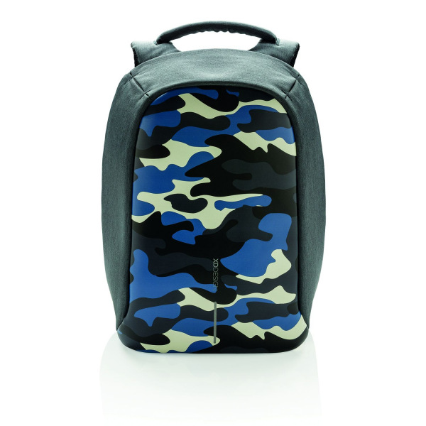 1dd2b3f060 Městský bezpečnostní batoh Bobby Compact Print Camouflage Blue