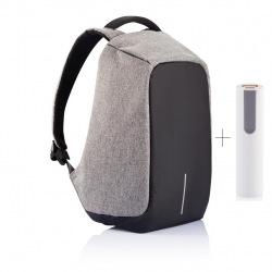 """Bezpečnostní batoh na notebook, Bobby Original, 15,6"""", XD Design, šedý"""