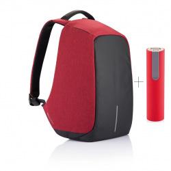 """Bezpečnostní batoh na notebook, Bobby Original, 15,6"""", XD Design, červený"""