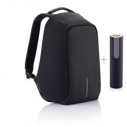 """Bezpečnostní batoh na notebook,  Bobby Original, 15,6"""", XD Design, černý"""