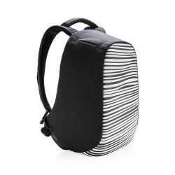 """Městský bezpečnostní batoh, Bobby Compact Print, 14"""", XD Design, zebrovaný"""
