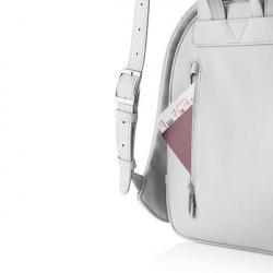 Dámský městský batoh, který nelze vykrást Bobby Elle, světle šedý