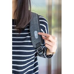 Dámský bezpečnostní batoh s alarmem a GPS lokací Cathy, XD Design, černý