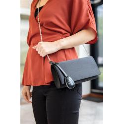 Bezpečnostní talisman na kabelku s alarmem a SOS sms lokací Cathy, XD Design, černý