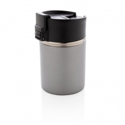 Keramický termohrnek Bogota, 220 ml, XD Design, šedý