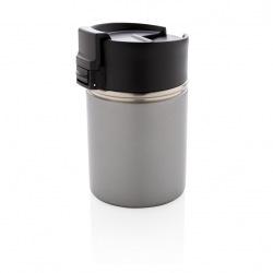 Keramický termohrnek Bogota, 220 ml, XD Xclusive, šedý