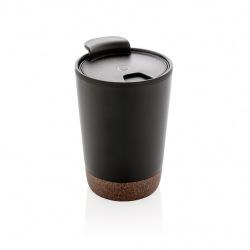 Termohrnek Cork, 300 ml, XD Design, černý