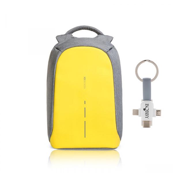 """XD Design, batoh Bobby, který nelze vykrást 14"""", P705.536, žlutá"""
