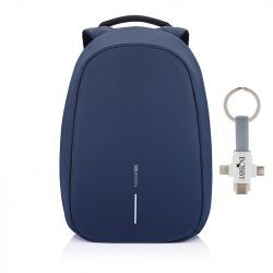 """Bezpečnostní batoh, Bobby Pro, 15.6"""", XD Design, modrý"""