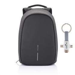 """Bezpečnostní batoh, Bobby Pro, 15.6"""", XD Design, černý"""