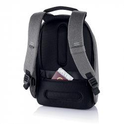 "Bezpečnostní batoh Bobby Hero Small 13.3"", XD Design, šedý"