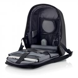 """Bezpečnostní batoh Bobby Hero Regular 15.6"""", XD Design, černý"""
