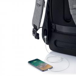 """Bezpečnostní batoh Hero XL 17"""", XD Design, šedý"""