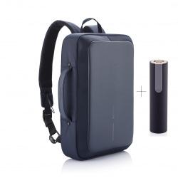 """Bezpečnostní business batoh/aktovka na notebook, Bobby Bizz, 15,6"""", XD Design, navy"""