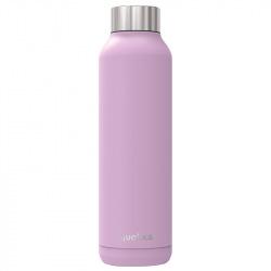 Nerezová láhev Solid, 630 ml, Quokka, světle fialová