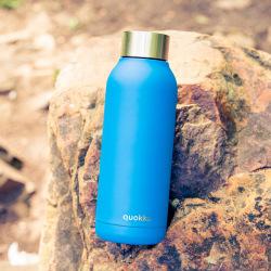 Nerezová láhev Solid, 510 ml, Quokka, modrá