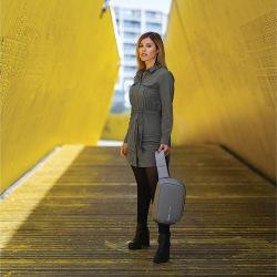 Bezpečnostní batoh Bobby Sling, XD Design, šedý