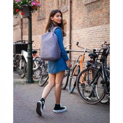 Bobby Soft - bezpečnostní batoh, XD Design, šedý