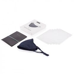 Ochranná rouška s filtry z nanovlákna, XD Design, modrá
