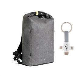 Bezpečnostní batoh, Urban Lite, XD Design, šedý