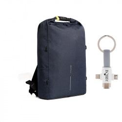 Bezpečnostní batoh, Urban Lite, XD Design, modrý