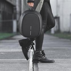 Dámský městský batoh, který nelze vykrást Bobby Elle, černý