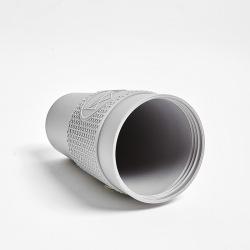 Ekologický termohrnek 450 ml, Neon Kactus, šedý