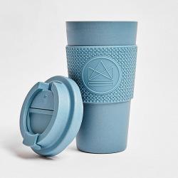 Ekologický termohrnek 450 ml, Neon Kactus, modrý