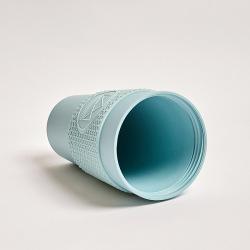 Ekologický termohrnek 450 ml, Neon Kactus, sv. modrý