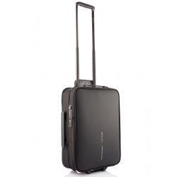 Příruční kufr na kolečkách Flex Trolley, 15-30 L, XD Design, černý
