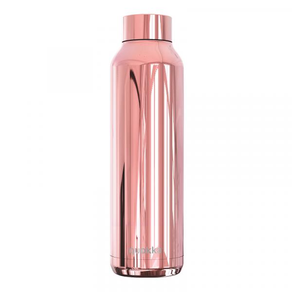 Nerezová lahev Solid Sleek 630 ml, Quokka, růžová