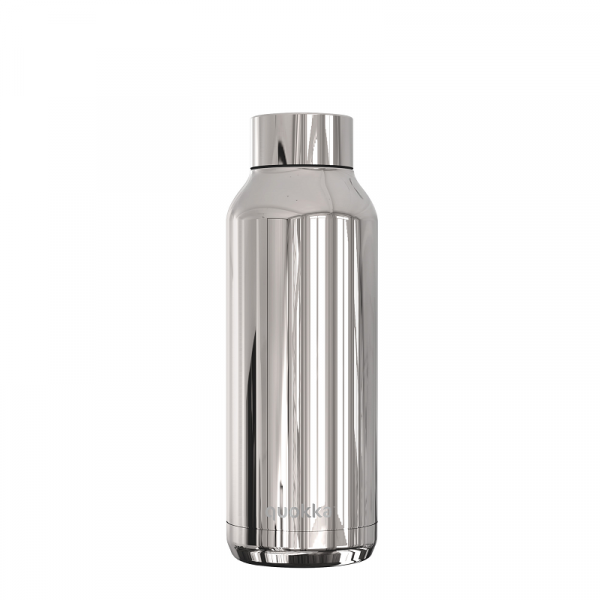 Nerezová lahev Solid Sleek 510 ml, Quokka, stříbrná