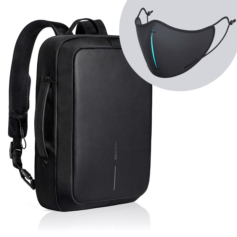 Levně XD Design, Bobby Bizz, batoh a taška na notebook v jednom, který nelze vykrást, 15.6'', P705.571