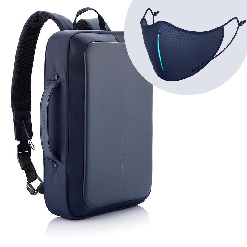 Levně XD Design, Bobby Bizz, batoh a taška na notebook v jednom, který nelze vykrást, 15.6'', P705.575, navy