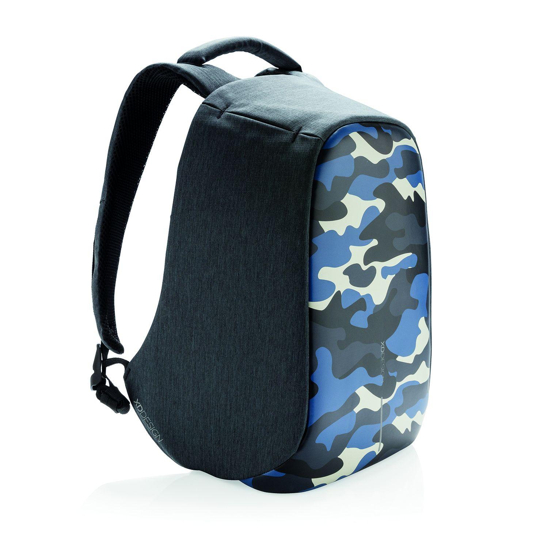 Levně Městský batoh, který nelze vykrást Bobby, 14'' XD Design, camouflage blue, P705.655