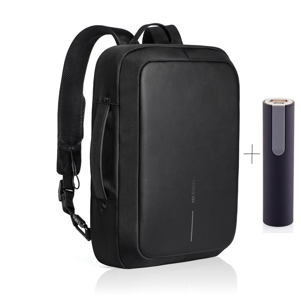 XD Design, Bobby Bizz, batoh a taška na notebook v jednom, který nelze vykrást, 15.6'', P705.571