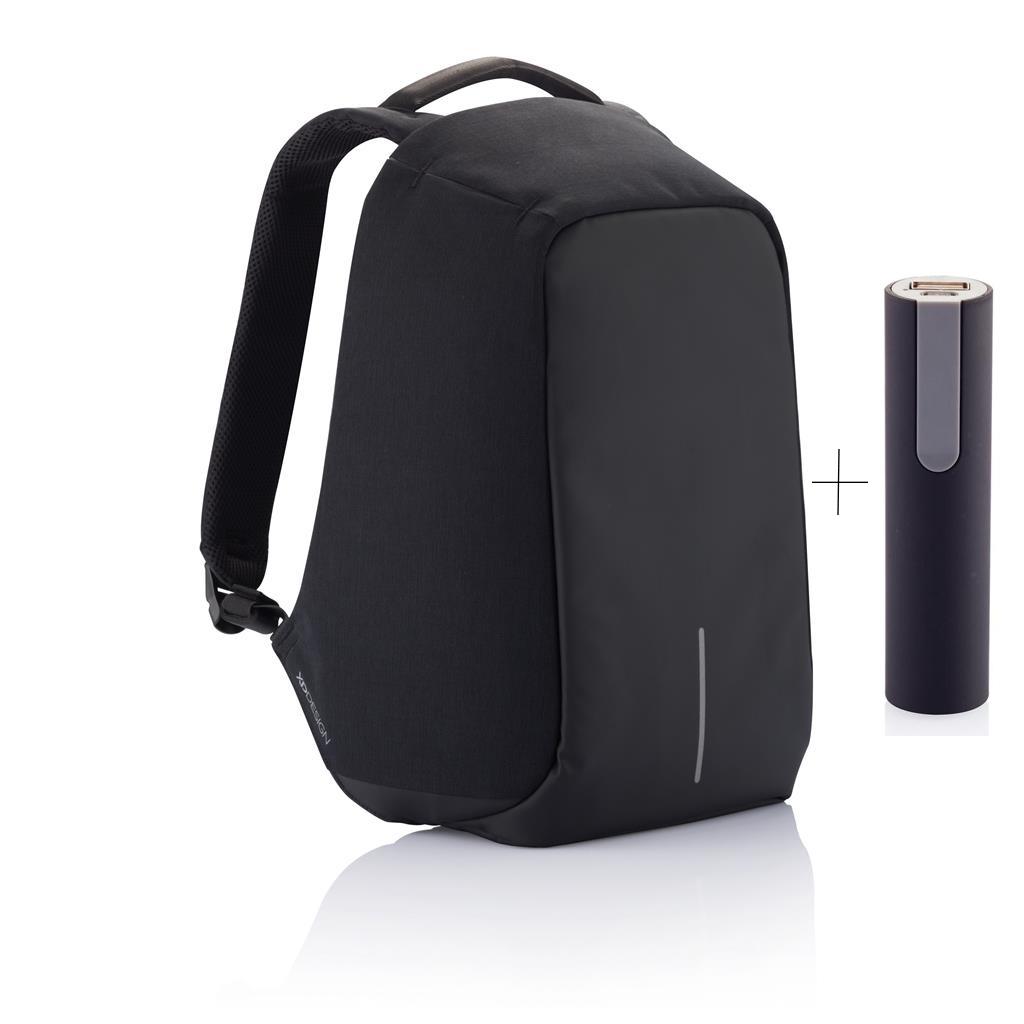 Levně XD Design, batoh Bobby, který nelze vykrást 15.6'', P705.541, černý