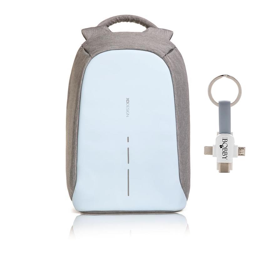 Levně XD Design, batoh Bobby, který nelze vykrást 14'', P705.530, pastelově modrá