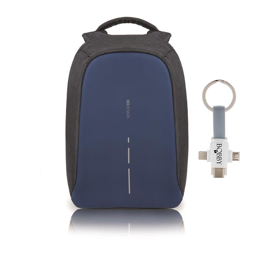 Levně XD Design, batoh Bobby, který nelze vykrást 14'', P705.535, tmavě modrá