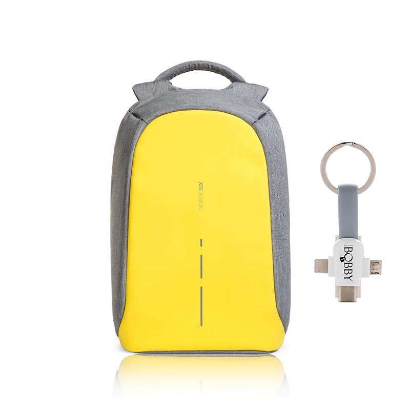 Levně XD Design, batoh Bobby, který nelze vykrást 14'', P705.536, žlutá