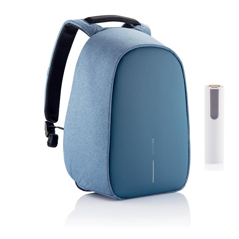 Levně Bezpečnostní batoh na notebook Bobby Hero Regular 15.6'', XD Design, modrý, P705.299