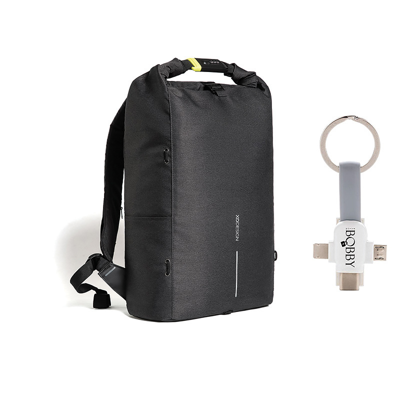 Levně XD Design, Městský batoh Bobby Urban Lite 15.6'', P705.501, černý