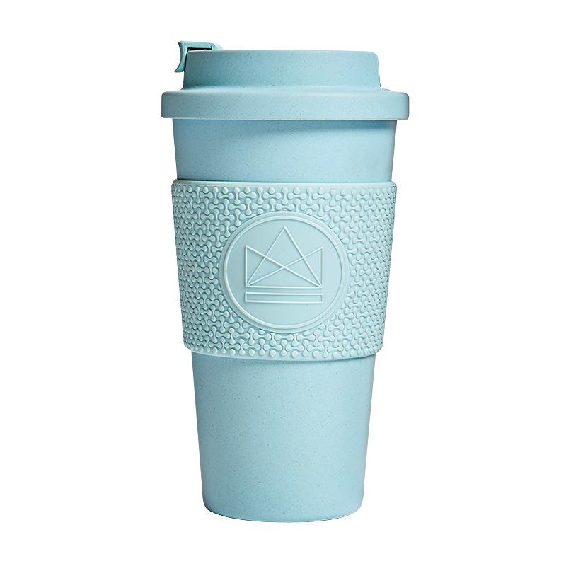 Levně Neon Kactus, Ekologický termohrnek 450 ml, sv. modrý